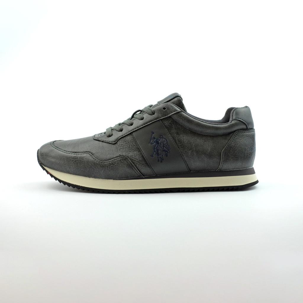 Estilo De La Manera Del Descuento Buena Venta En Línea Sneakers grigie con stringhe per uomo u.s polo assn. RmpDcf