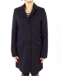 Capotto slim in panno VERO MODA Cappotti Donna Cappotto in panno   cappotto veromoda   cappotto con zip e bottoni  cappotto slim fit Blu Cammello Nero 100% Poliestere